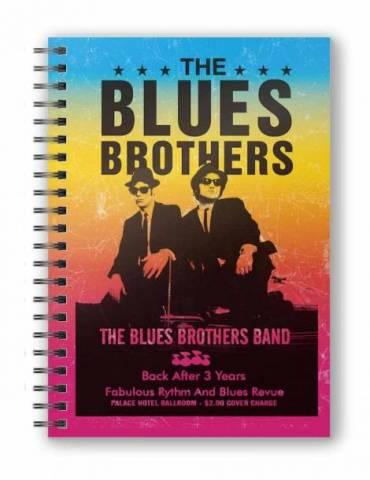 Libreta Espiral The Blues Brothers: Band