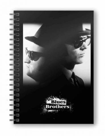 Libreta Espiral The Blues Brothers: Jake y Elwood