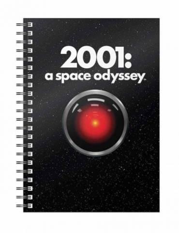 Libreta Espiral Póster 2001 Odisea en el Espacio