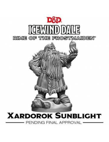 D&D Icewind Dale Rime of the Frostmaiden Xardorok Sunblight (1 fig)