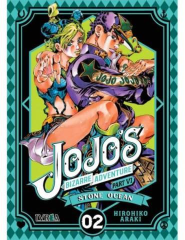 Jojo's Bizarre Adventure Parte 6: Stone Ocean 02