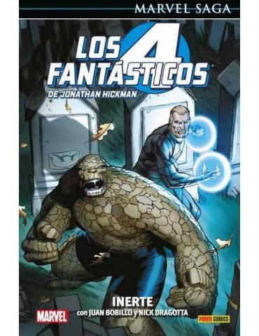 Los 4 Fantásticos de Jonathan Hickman 08: Inerte (Marvel Saga 108)