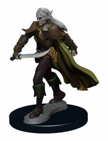 Figura Pathfinder Battles Miniatura Premium pre pintado Elf Fighter Male