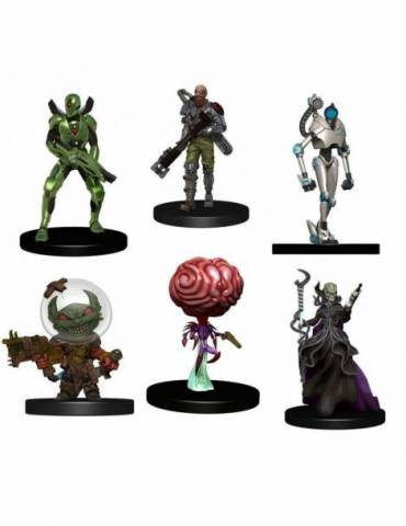 Pack de 6 Miniaturas Starfinder Battles Starter Pack: Monster Pack