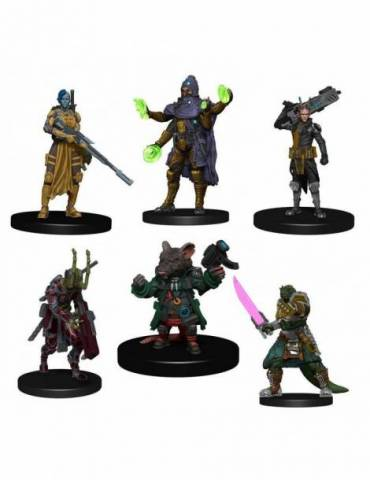 Pack de 6 Miniaturas Starfinder Battles Starter Pack: Heroes Pack