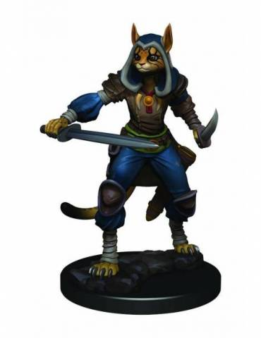 Figura D&D Icons of the Realms Premium Figures: Female Tabaxi Rogue