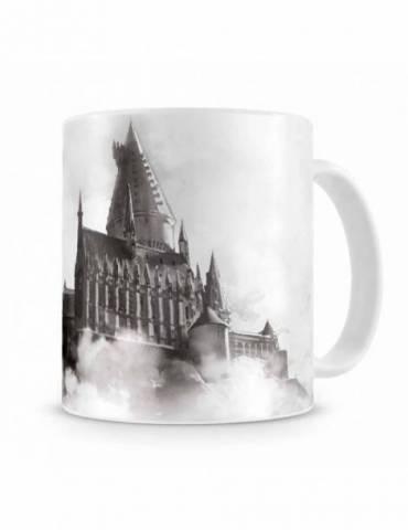 Taza Blanca Cerámica Harry Potter: Hogwarts