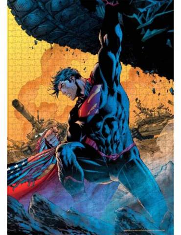 Puzle Universo DC: Superman Tanque