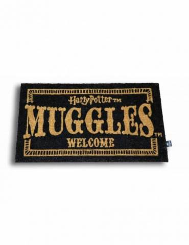 Felpudo Harry Potter: Muggles Welcome 60 X 40 cm