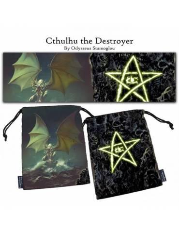 Bolsa para dados Cthulhu the Destroyer