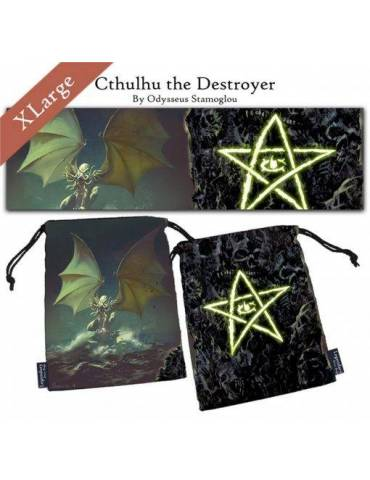 Bolsa para dados Cthulhu the Destroyer XL