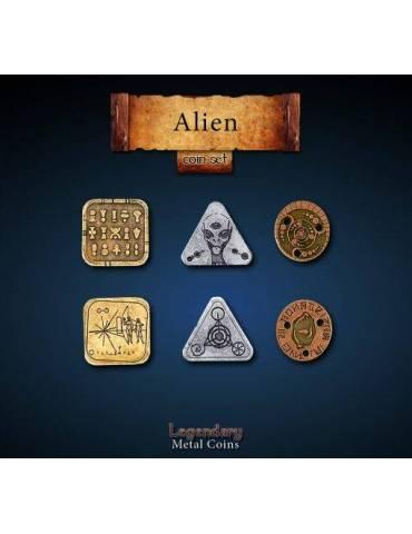 Alien Coin Set (24 Coins)