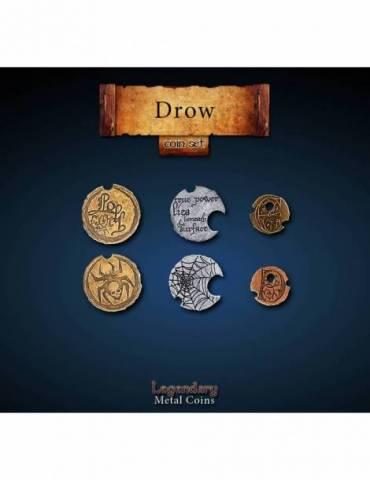 Drow Coin Set (24 Coins)