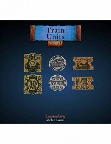 Train Units Set (24 Coins)