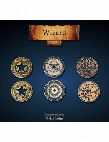 Wizard Coin Set (24 Coins)