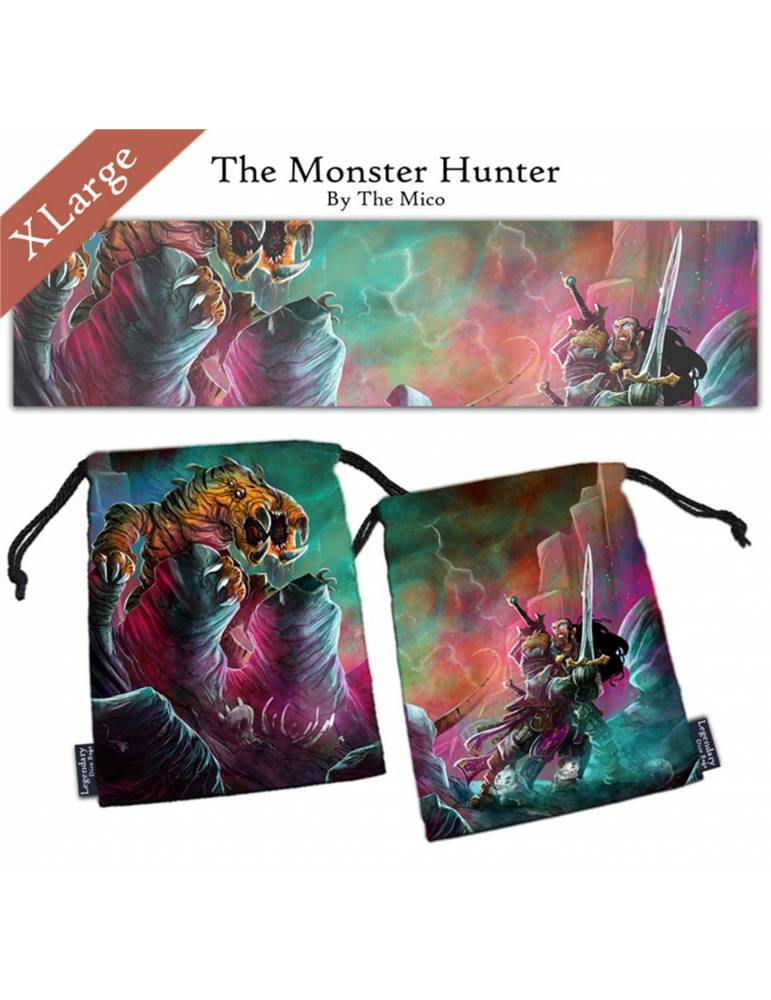 Bolsa para dados The Monster Hunter XL