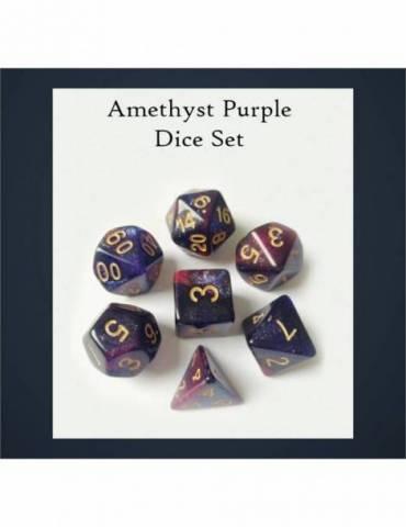 Set de dados Legendary Amethyst Purple