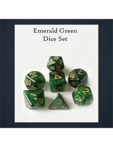 Set de dados Legendary Emerald Green