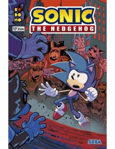 Sonic The Hedgehog núm. 17