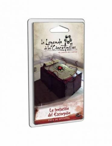 La Leyenda de los Cinco Anillos: el juego de cartas - La tentación del Escorpión
