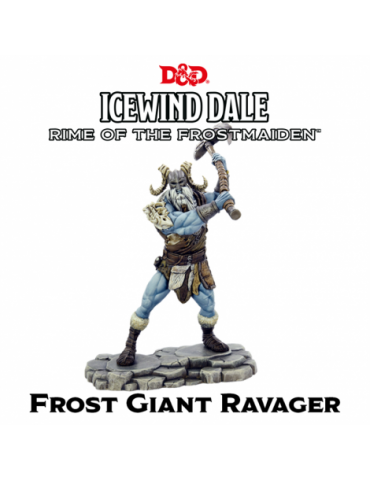 Dungeons & Dragons Icewind Dale: Rime of the Frostmaiden - Frost Giant Ravager (1 fig)