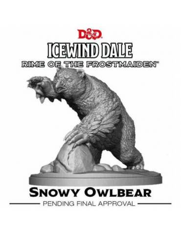 Dungeons & Dragons Icewind Dale: Rime of the Frostmaiden - Snowy Owlbear (1 fig)