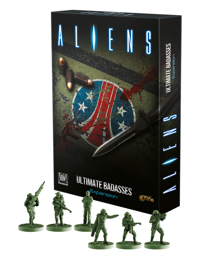 Aliens Boardgame Ultimate Badasses
