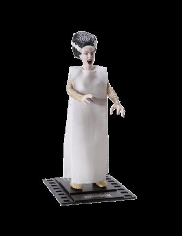 Figura Bendyfig Universal: Novia de Frankenstein Flexible 18 cm