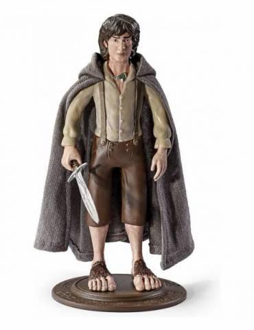 Figura Bendyfig El Señor de los Anillos: Frodo Baggins Flexible 19 cm