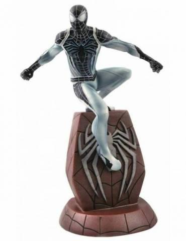 Figura Marvel Gallery PS4 SDCC 2020: Spider-Man Traje Negativo 25 cm