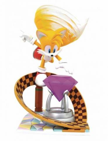 Figura Diorama Sonic The Hedgehog Gallery: Tails 23 cm
