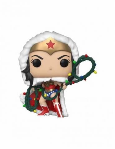 Figura POP DC Comics: Wonder Woman with Lights Lasso 9 cm