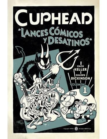 Cuphead 01. Lances Cómicos y Desatinos