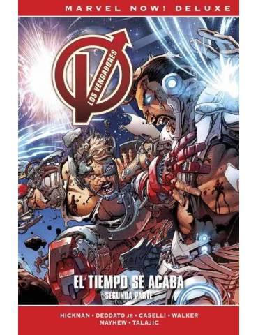 Los Vengadores de Jonathan Hickman 9. El Tiempo se Acaba (Marvel Now! Deluxe)