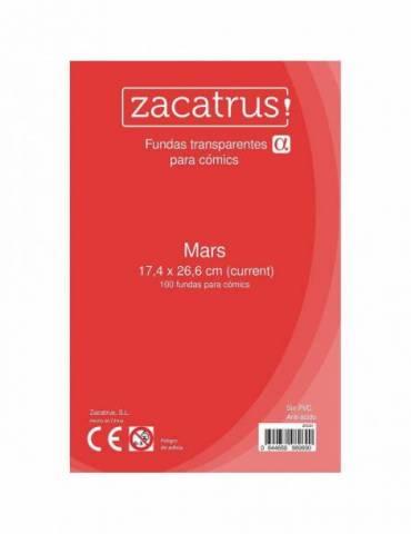 Fundas Zacatrus Mars (Comic: 174 mm X 266 mm) (100 uds)