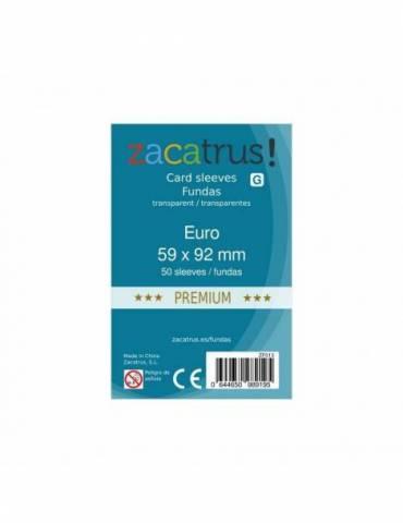 Fundas Zacatrus Euro Premium (59 mm X 92 mm) (50 uds)