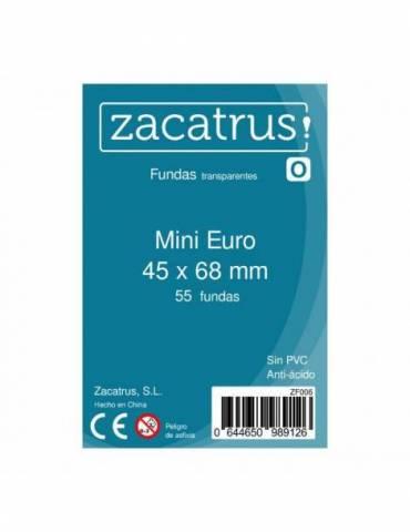 Fundas Zacatrus Mini Euro (45 x 68 mm) (55 uds)