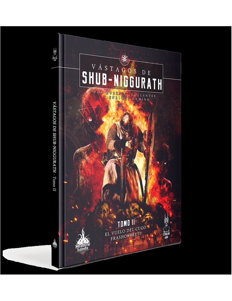 Pack Vástagos de Shub-Niggurath tomo II + Pantalla Cthulhu d100 + PDF La Voluntad de Mordulak