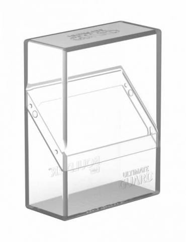 Caja para Cartas Ultimate Guard Boulder Deck Case 40+ Tamaño Estándar Transparente
