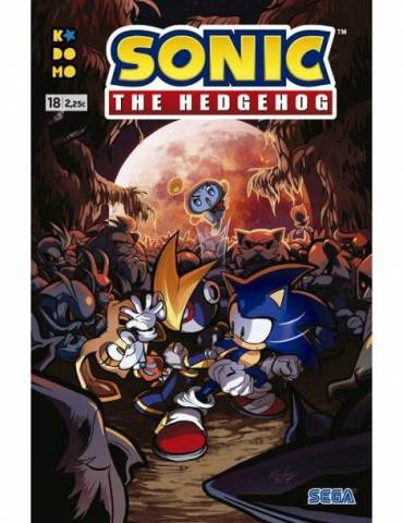 Sonic The Hedgehog núm. 18