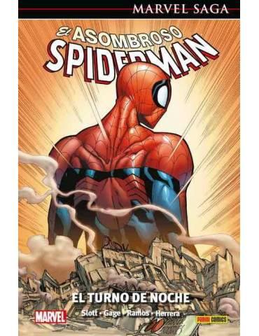 El Asombroso Spiderman 49. El Turno de Noche (Marvel Saga 110)