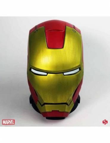 Mega Hucha Marvel: Casco Iron Man MKIII 25 cm
