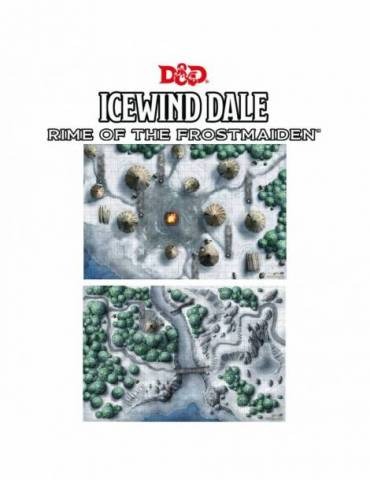 Dungeons & Dragons Map Set: Icewind Dale (2x 20 x 30)