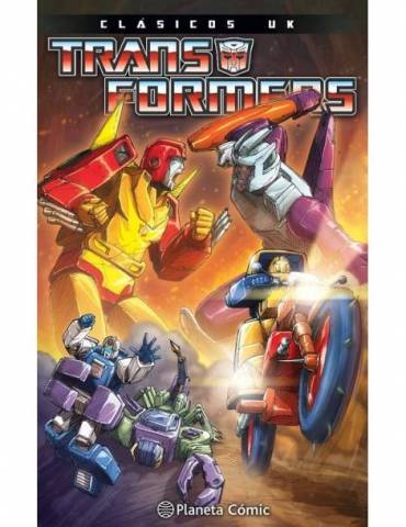 Transformers Marvel Uk Nº04/08