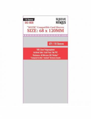 Fundas Sleeve Kings WOTR Perfect Compatible (68x120mm)
