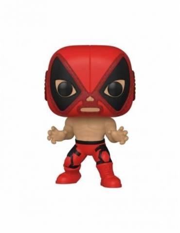 Figura POP Marvel Luchadores: Deadpool 9 cm