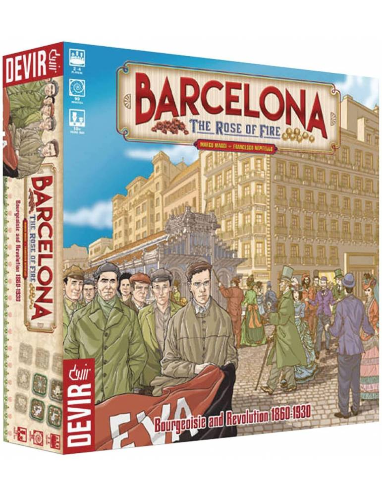 Barcelona: The Rose of Fire (Inglés)