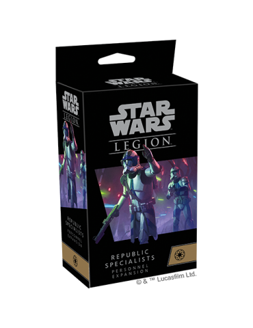Star Wars: Legion - Republic Specialists Personnel Expansions