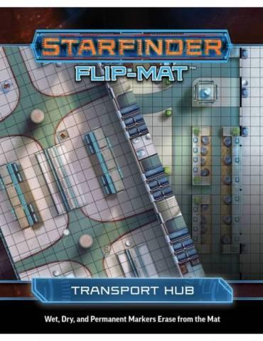 Starfinder Flip-Mat: Transport Hub