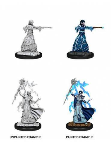 D&D Nolzur's Marvelous Miniatures: Elf Wizard Female